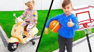 1 Iunie Ziua Copiilor! Alex si Ariana primesc Cadouri!