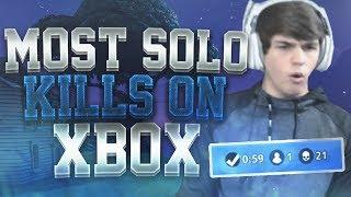 21 Kill Solo win! Xbox World Record?! INSANE Fortnite Battle Royale! 🔥💯