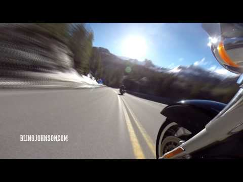 Silverton to Ouray Colorado GoPro Time Lapse with Bling Johnson & Leo