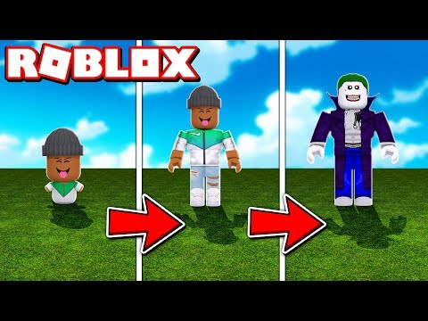 TRANSFORMING INTO THE JOKER!!  Roblox Super Villain Tycoon