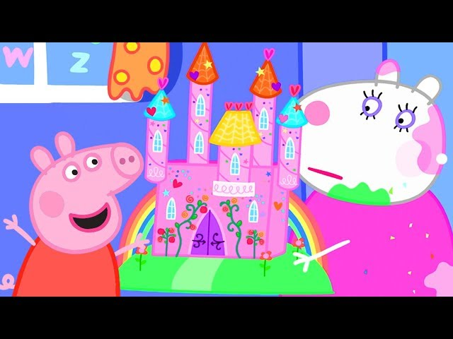 Peppa Pig Official Channel ❤️ Peppa Pig's Big Castle 🏰
