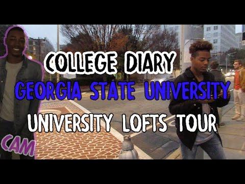 GSU University Lofts Dorm tour