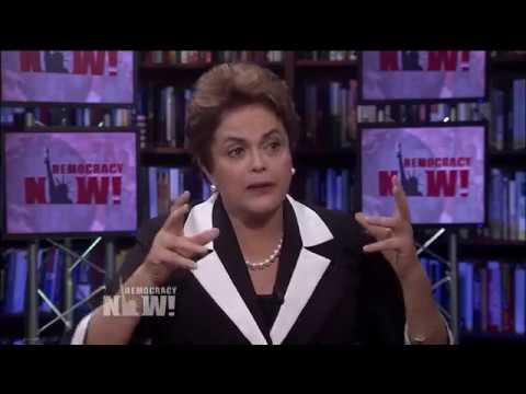 Democracy Now - Ousted Brazil President