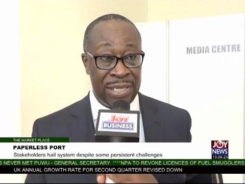 Paperless Port - The Market Place on Joy News (4-10-17)