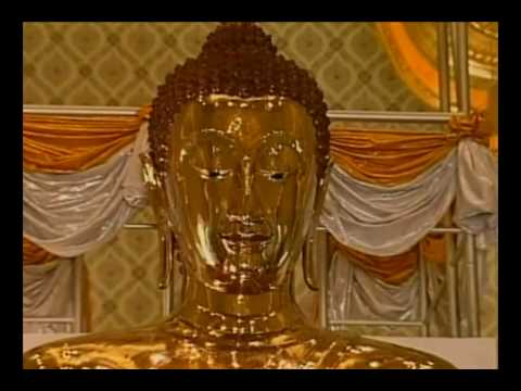 THe largest golden buddha image in  the world