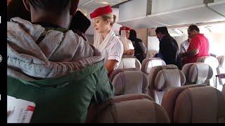 MUMBAI EMIRATES IN FLIGHT FOOD REVIEW I FLY FROM DUBAI TO MUMBAI