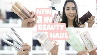 NEW IN BEAUTY HAUL | TESTING NEW PRODUCTS 2017