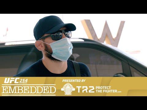 UFC 254 Embedded: Vlog Series - Episode 1
