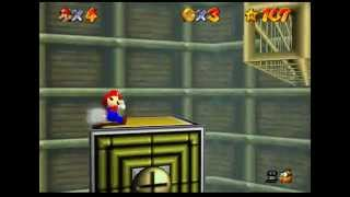 Lets Play Super Mario 64!  The Death Clock! (54)