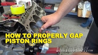 How To Properly Gap Piston Rings