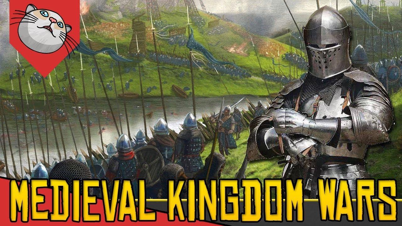 COMECE COMO NOBRE, VIRE REI, CONQUISTE A EUROPA – Medieval Kingdom Wars [Gameplay Português PT-BR]