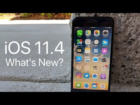 iOS 11.4.1 is Out! - What