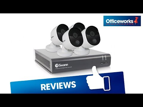 Swann 8 Channel 4 Camera Security System Overview