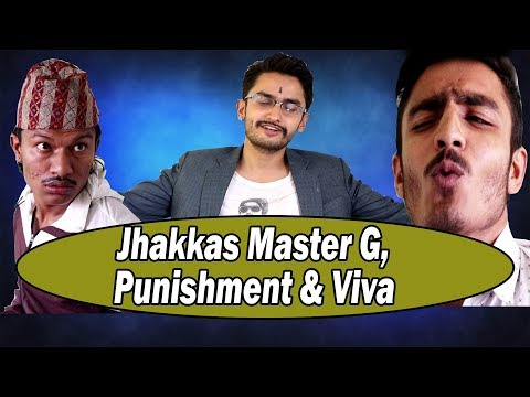 Jhakkas Master G, Punishment & Viva ||The Pk Vines||