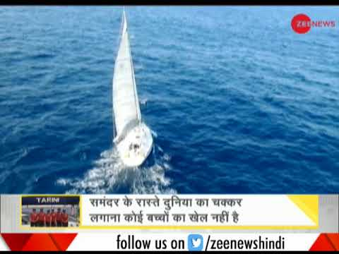 DNA: All-women crew of INSV Tarini reach Goa after circumnav