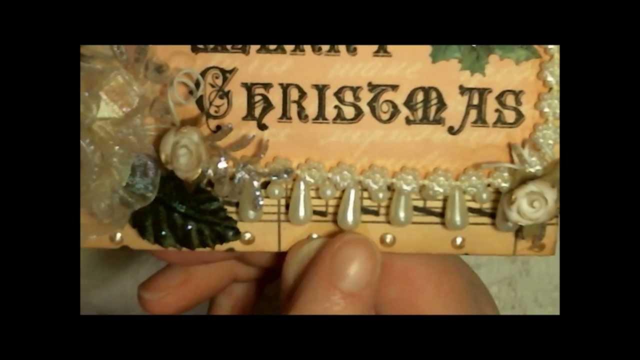 vintage chic victorian christmas envelope pro 31 designs project 2