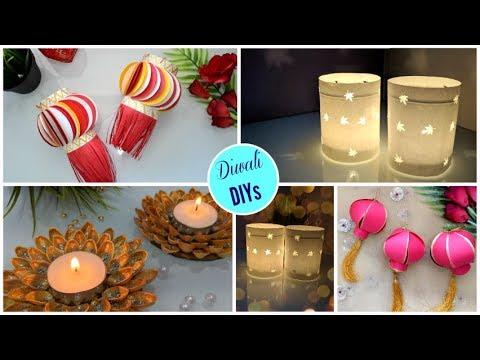 Diwali DIY Decoration ideas   Quick & Easy Diwali Home Decor