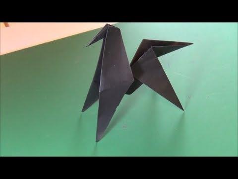 ハート 折り紙 折り紙 馬 : youtube.com