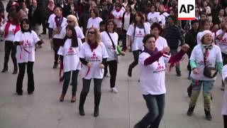 """Global campaign - """"One Billion Rising"""" - to end violence against women"""