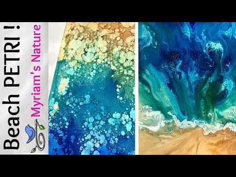 54]  DESIGNING a RESIN & Alcohol Ink PETRI  - 12 piece SHOW & TELL -  Full TUTORIAL