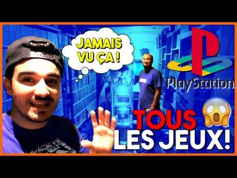 IL A TOUS LES JEUX PLAYSTATION ! DU JAMAIS VU ! (et 4000 autres)