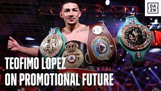 Teofimo Lopez Uncut On His Promotional Future, What Network He Sees Himself Fighting On