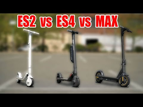 SEGWAY ES2 Vs ES4 Vs MAX REVIEW | What's The BEST Ninebot Electric Scooter?