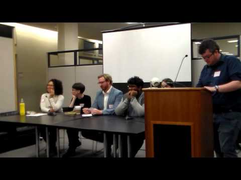 Open House part 2 at the PhD Program in English, CUNY Graduate Center, 2016