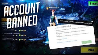 My Fortnite Account Got Banned For No Reason (Please Help Me)