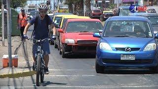 Ciclistas y peatones aprueban Ley de Convivencia Vial (2018.11.12) Iquique TV