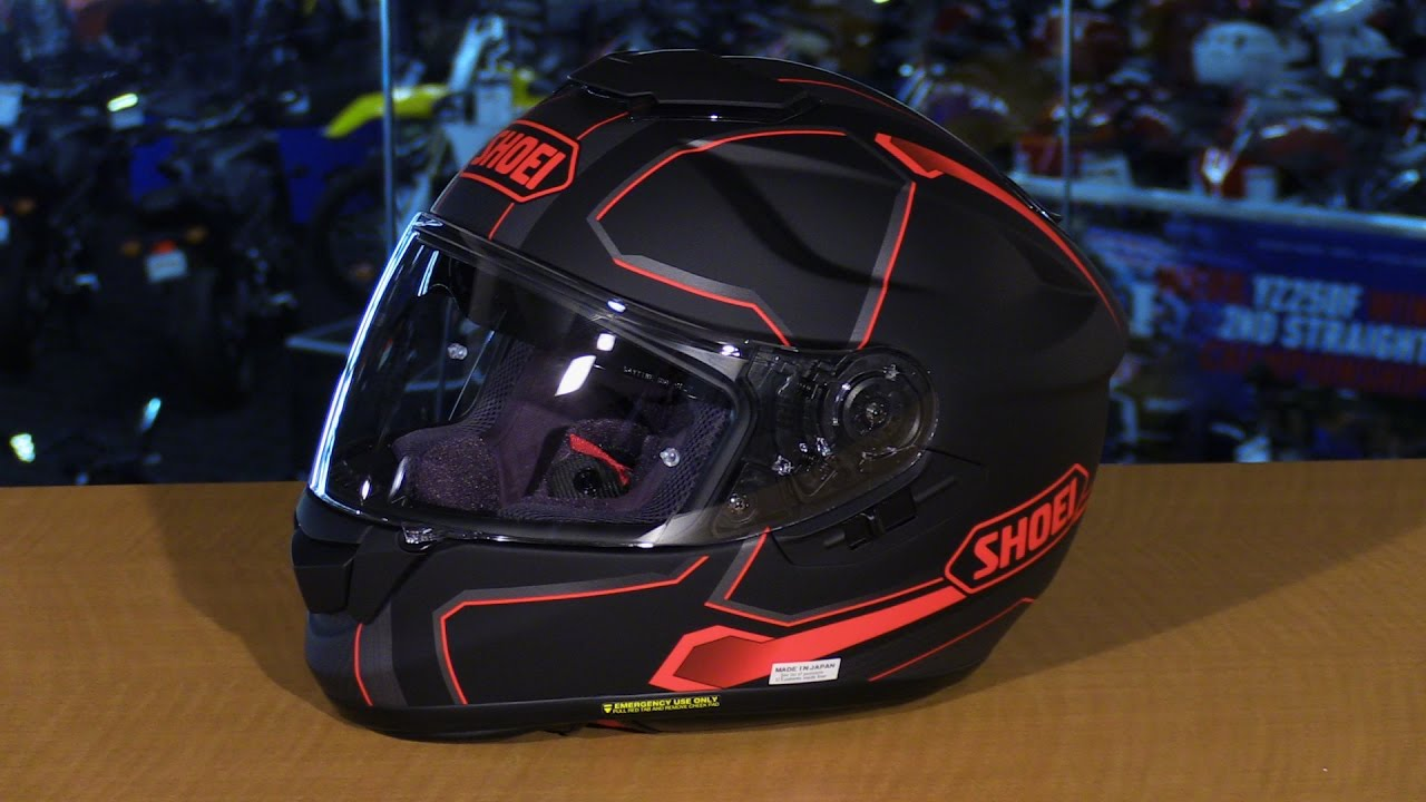shoei gt air pendulum full face motorcycle helmet graphic overview youtube. Black Bedroom Furniture Sets. Home Design Ideas