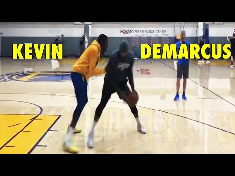 Kevin Durant 1-on-1 against DeMarcus Cousins
