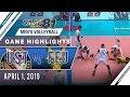 UAAP 81 MV: UST vs. FEU   Game Highlights   April 1, 2019