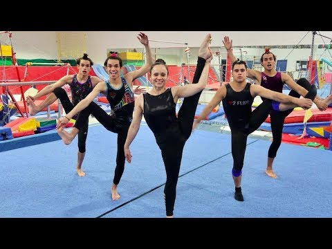 Thumbnail: FUNNY GYMNASTICS COMPETITION!