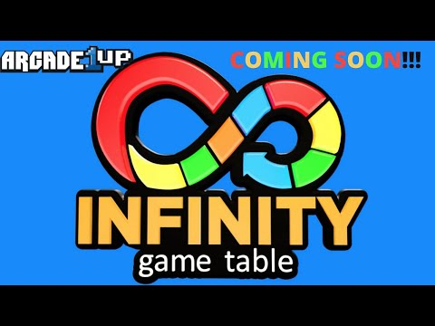 Arcade1up: First Look at the Infinity Game Table! from PsykoGamer
