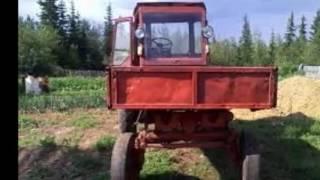 Слайд шоу трактора Т 16