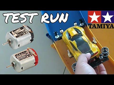 TEST RUN SPEED TAMIYA MINI4WD BUMBLEBEE WITH HYPER DASH 3 MOTOR