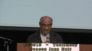 EC2019 - Testimony - Deacon Jana Nair