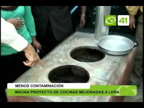Inician proyecto de cocinas mejoradas a le a trujillo for Planos de cocinas mejoradas a lena