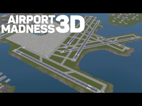"""Airport Madness 3D (PC) """"Boston Airport Chaos!"""""""