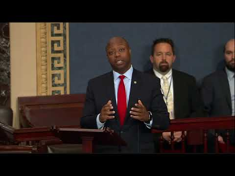 Senator Scott Discusses Senate Tax Bill on Floor