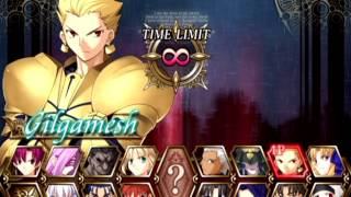 Fate/Unlimited Codes (PlayStation 2) Arcade as Gilgamesh