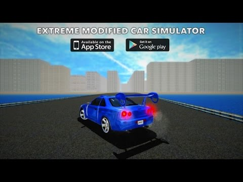 Extreme Modified Car Simulator Android GamePlay Trailer