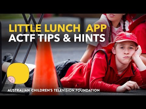 Little Lunch App - ACTF Tips and Hints