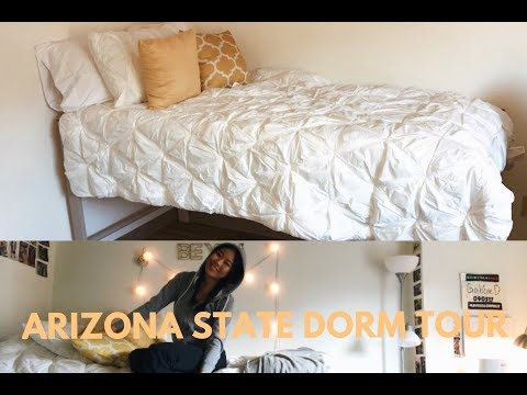 DORM TOUR 2018: ARIZONA STATE UNIVERSITY