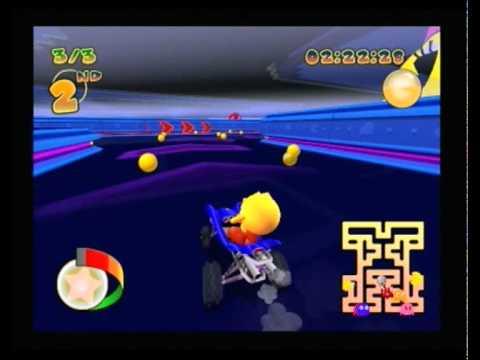 Pacman Rally - Retro Maze GP