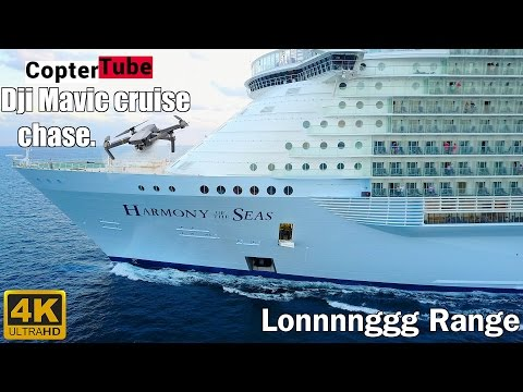 4K Dji Mavic 🛳 🚁11 12 2016 LIVE STREAM  1st Cruise chase  Harmony of the seas