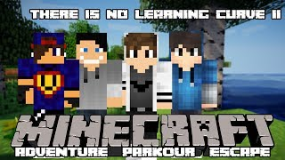 Minecraft :There Is No Learning Curve II - Nie Umiem W Logikę w/ GamerSpace, Happy, Tomek90