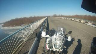 Открыл сезон 2017. Yamaha XT660Z