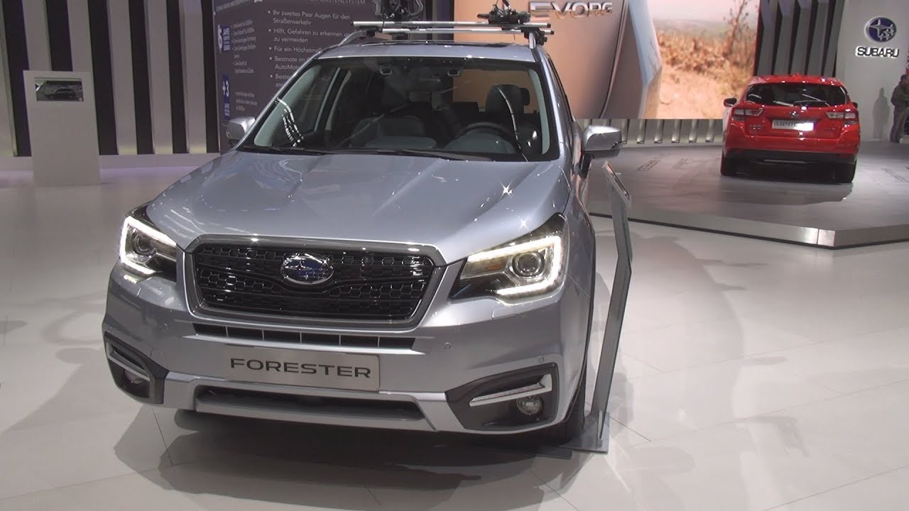 Subaru Forester 2 0x Platinum 2018 Exterior And Interior Youtube